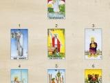 Гадание онлайн Таро на сегодня, 7 карт (бесплатно).