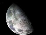 Черно-белая Луна.