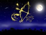 Луна в знаке зодиака Стрелец.