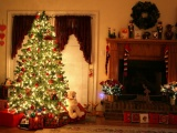 Установка новогодней елки по правилам фэн-шуй.