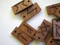 Изготовление деревянных рун
